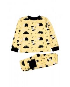 Піжама жовта Динозаври