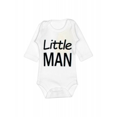 Бодік білий Little man