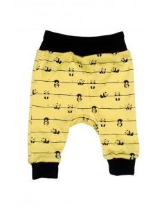 Штанишки желтые Панда
