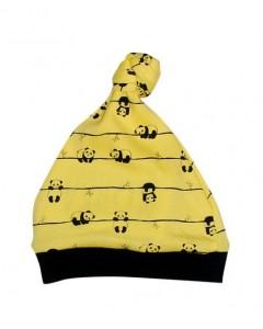 Шапочка жовта Панда
