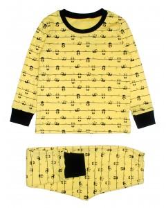Пижама желтая Панда