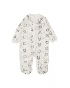 Jumpsuit 'We love cats' lactic