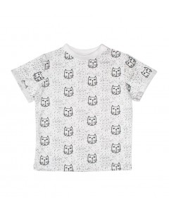 T-shirt Cats white