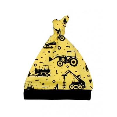 Шапочка  жовта Тракторці