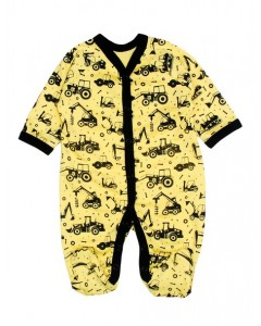 "jumpsuit yellow ""Tractor"""