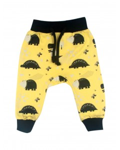 Pants 'Dinosaurs' yellow