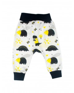 Pants 'Dinosaurs' white
