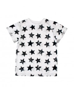 T-shirt Stars white