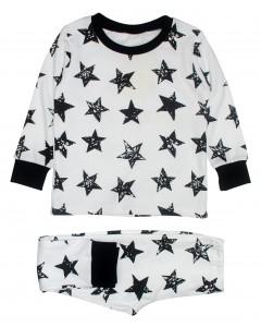 Піжама біла Stars