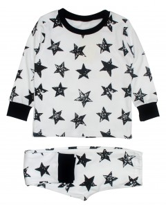 Пижама белая Stars