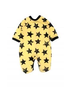 Jumpsuit 'Stars' yellow