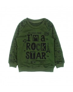 Світшот хакі Rock Star