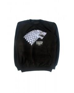 Світшот чорний Wolf чоловічий