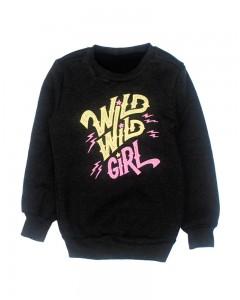 Світшот антрацит Wild Girl