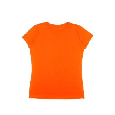 Футболка помаранчева чоловіча
