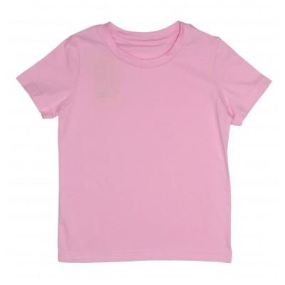 Футболка рожева