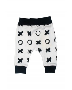 Pants 'Hugs and kisses ' white